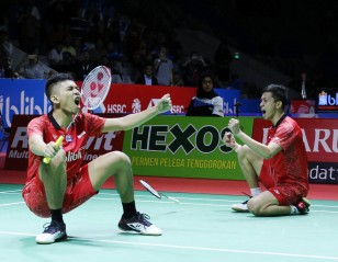 冷酷的征服者! —— 2018BLIBLI印度尼西亚公开赛第四日
