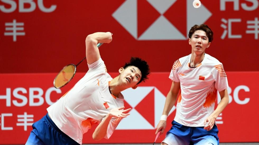 Pasangan ganda putra China, Li Junhui/Liu Yuchen meraih gelar juara BWF World Tour Finals 2018 setelah mengalahkan wakil Jepang, Hiroyuki Endo/Yuta Watanabe, Minggu (16/12/2018).