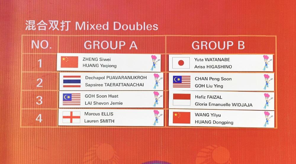 Heboh! Hafiz / Gloria Bikin Kejutan di BWF World Tour Finals