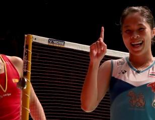 因达农智取马林 —— 马来西亚大师赛单打决赛