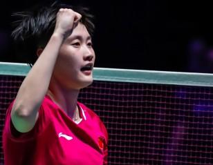 Chen Yufei Comes of Age