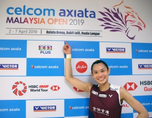 Tai up and running in 2019 – Malaysia Open: Women's Singles Final