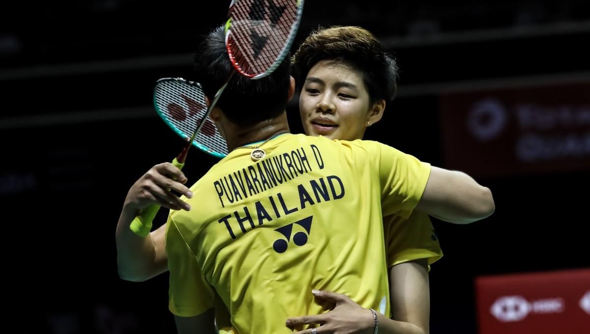 决赛场的泰国旋风 —— 新加坡公开赛双打决赛