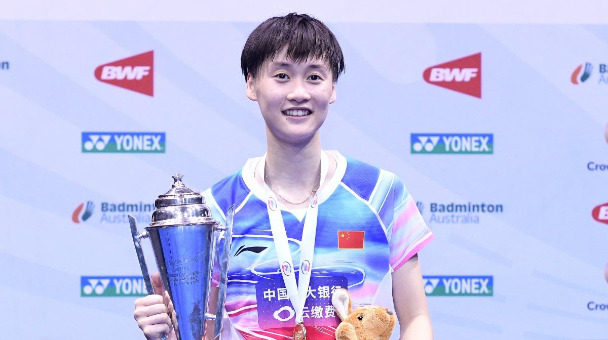 陈雨菲乔纳坦夺冠 —— 2019澳大利亚公开赛