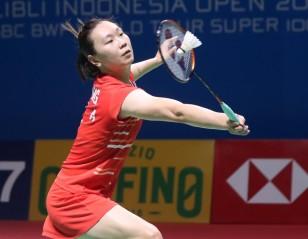 辛杜、张蓓雯晋级 —— 印度尼西亚公开赛:次日