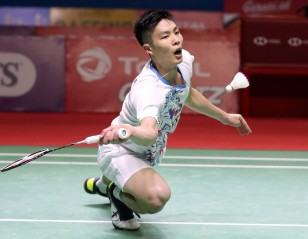 Chou Prevails in Epic - Indonesia Open: Day 3
