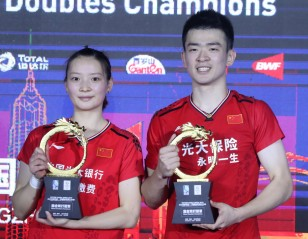 Super 1000 Sweep for Zheng/Huang – China Open: Finals