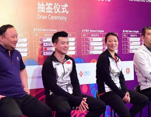 Zheng/Huang Drawn into Tricky Group
