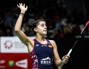 Emotions Set Aside, Marin Makes Winning Return at Indonesia Masters