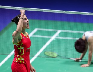 Marin Performs Despite Personal Crisis